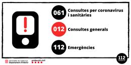 Telèfons de Protecció Civil