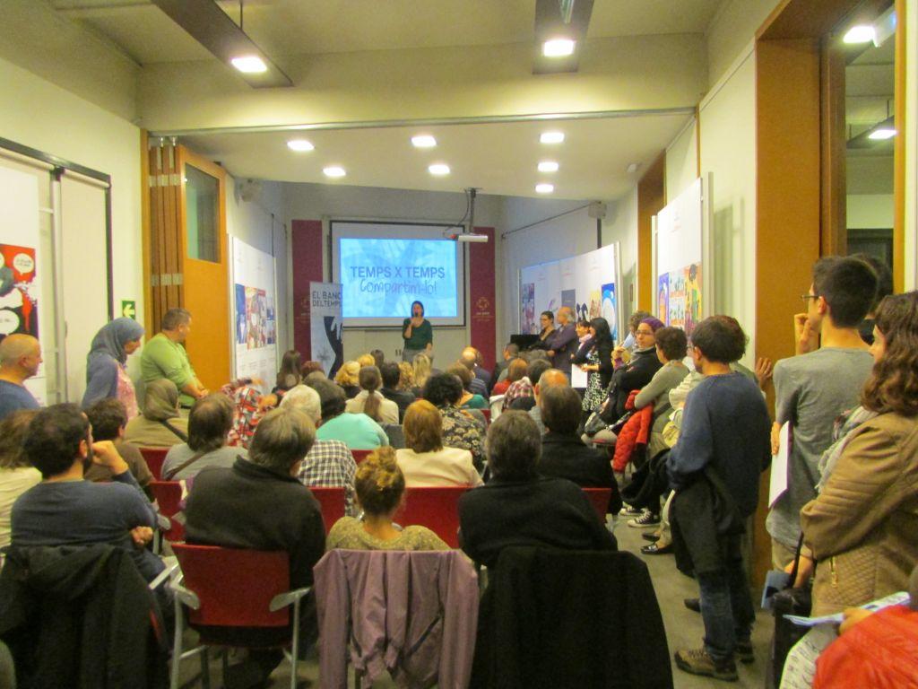 El Banc del Temps es va presentar la tardor passada a Can Jonch. Centre de Cultura per la Pau