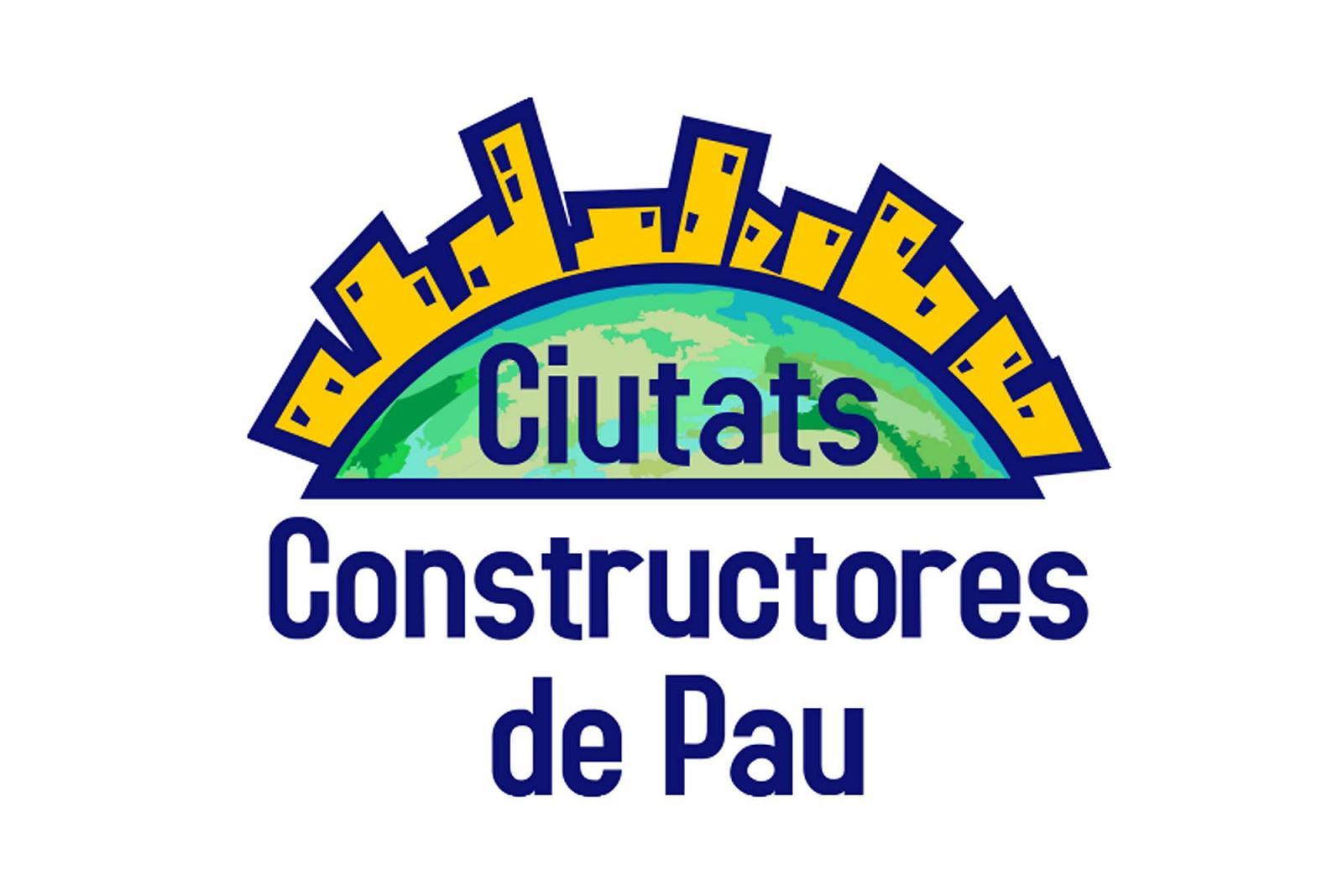 Logotip de Ciutats Constructores de Pau