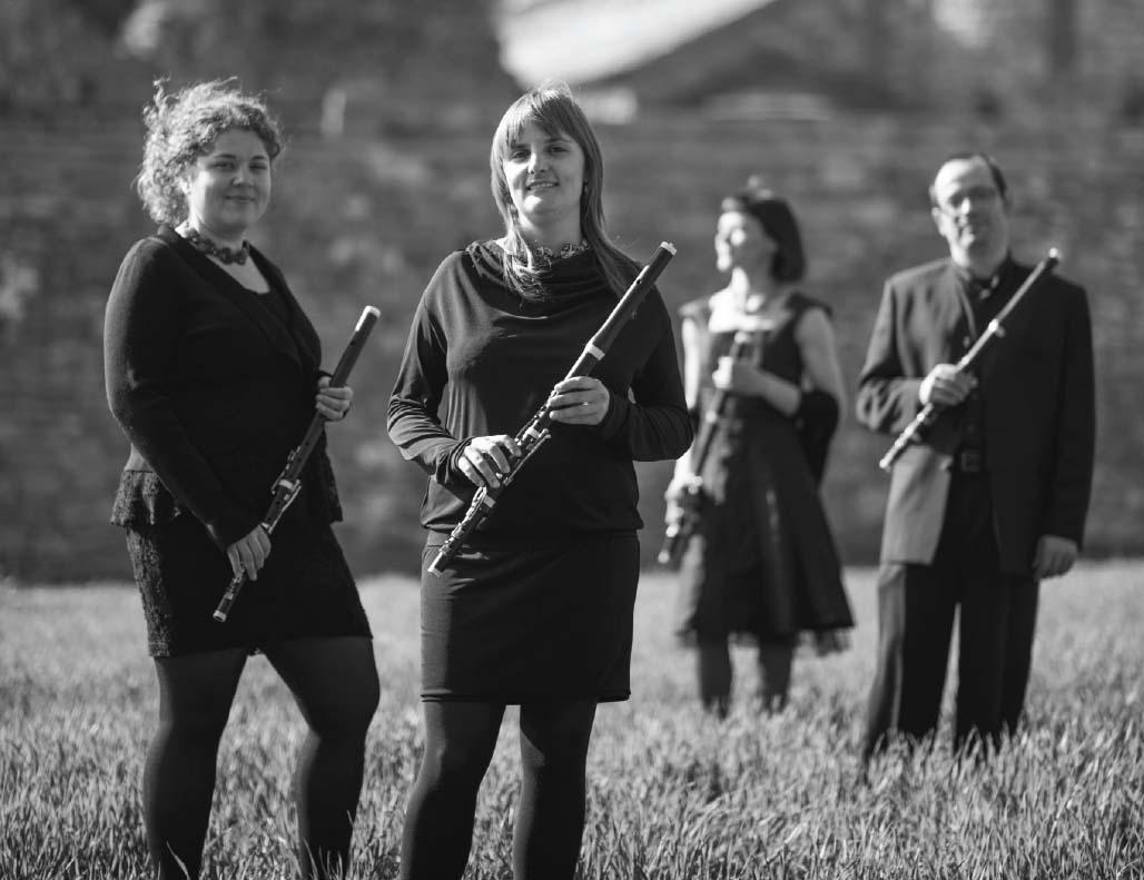 Imatge del quartet de música barroca La Petite Écurie
