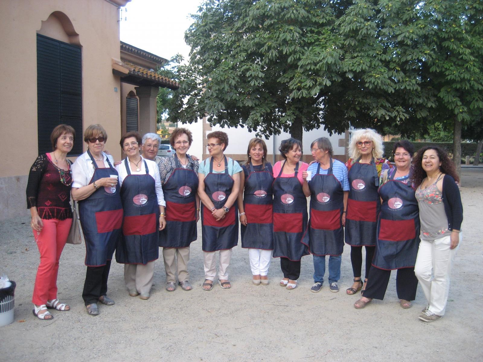 Grup de dones de 'Passa'm la recepta'