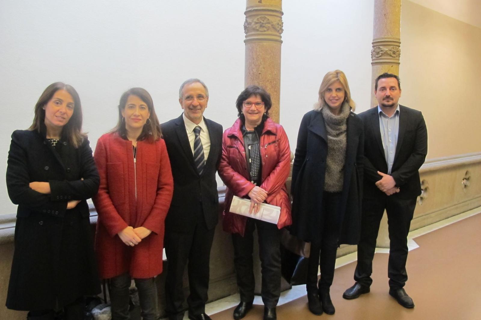 La comissió executiva de la Secció Catalana d'Alcaldes i Alcaldesses per la Pau s'ha trobat a Granollers