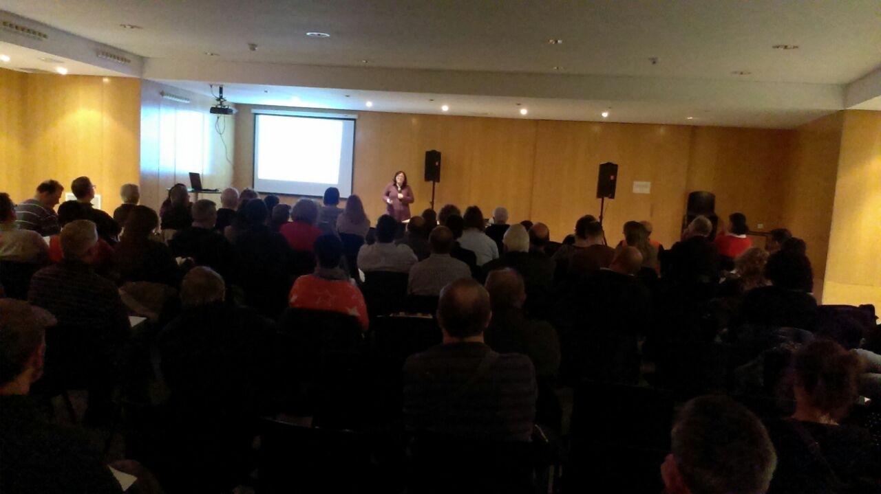 Sessió de formació per a entitats al Centre Cívic Nord, el 17 de març passat.