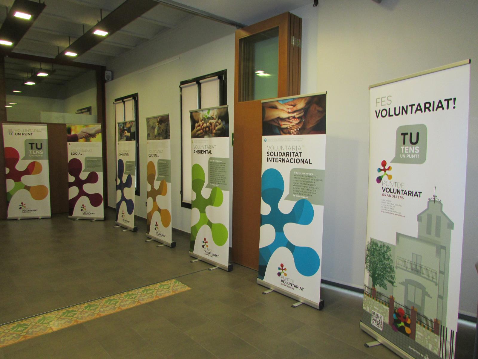 La mostra és itinerant i es podrà visitar per les seus de les entitats que la sol·licitin.