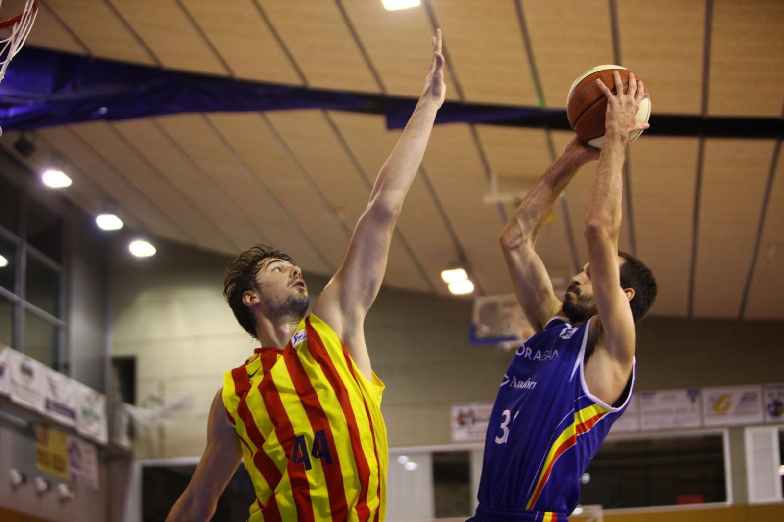 El FC Barcelona i el Bàsquet Andorra van disputar la final de l'any passat de la lliga catalana. Foto: Ricard Rovira/ FCBQ