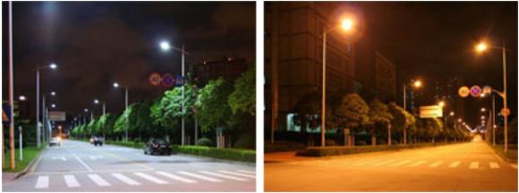 Els leds produeixen una llum més blanca, milloren la visibilitat, enlluernen menys i consumeixen molt menys energia.