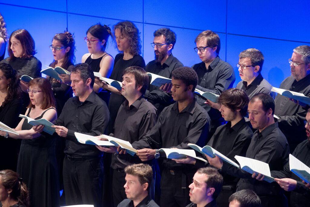 A l'escenari del Teatre Auditori s'hi reuniran 170 cantaires