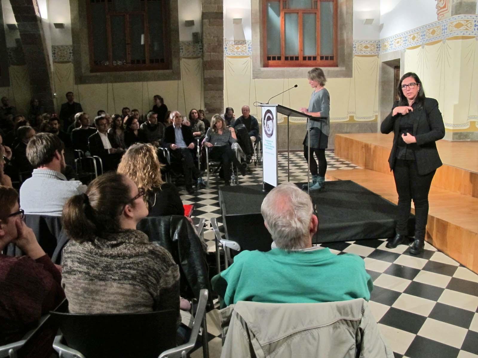 La primera tinent d'alcalde Alba Barnusell va explicar que el PAM té dues idees centrals: Granollers, una ciutat que no oblidi a ningú; i Granollers una ciutat que vol ser moderna, atractiva, innovadora, amb empenta, amb oportunitats per a tothom i oberta al món.