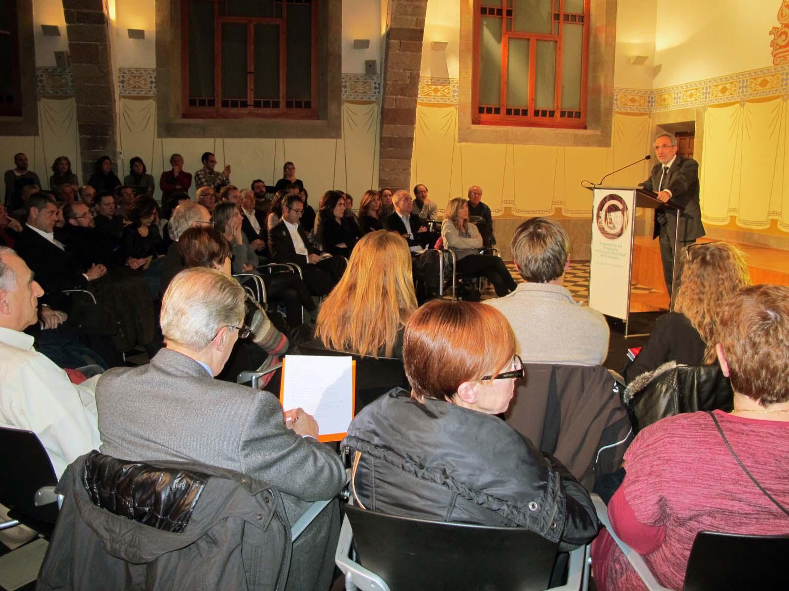 L'alcalde Josep Mayoral va cloure l'exposició del Programa d'Actuació Municipal per a aquest mandat