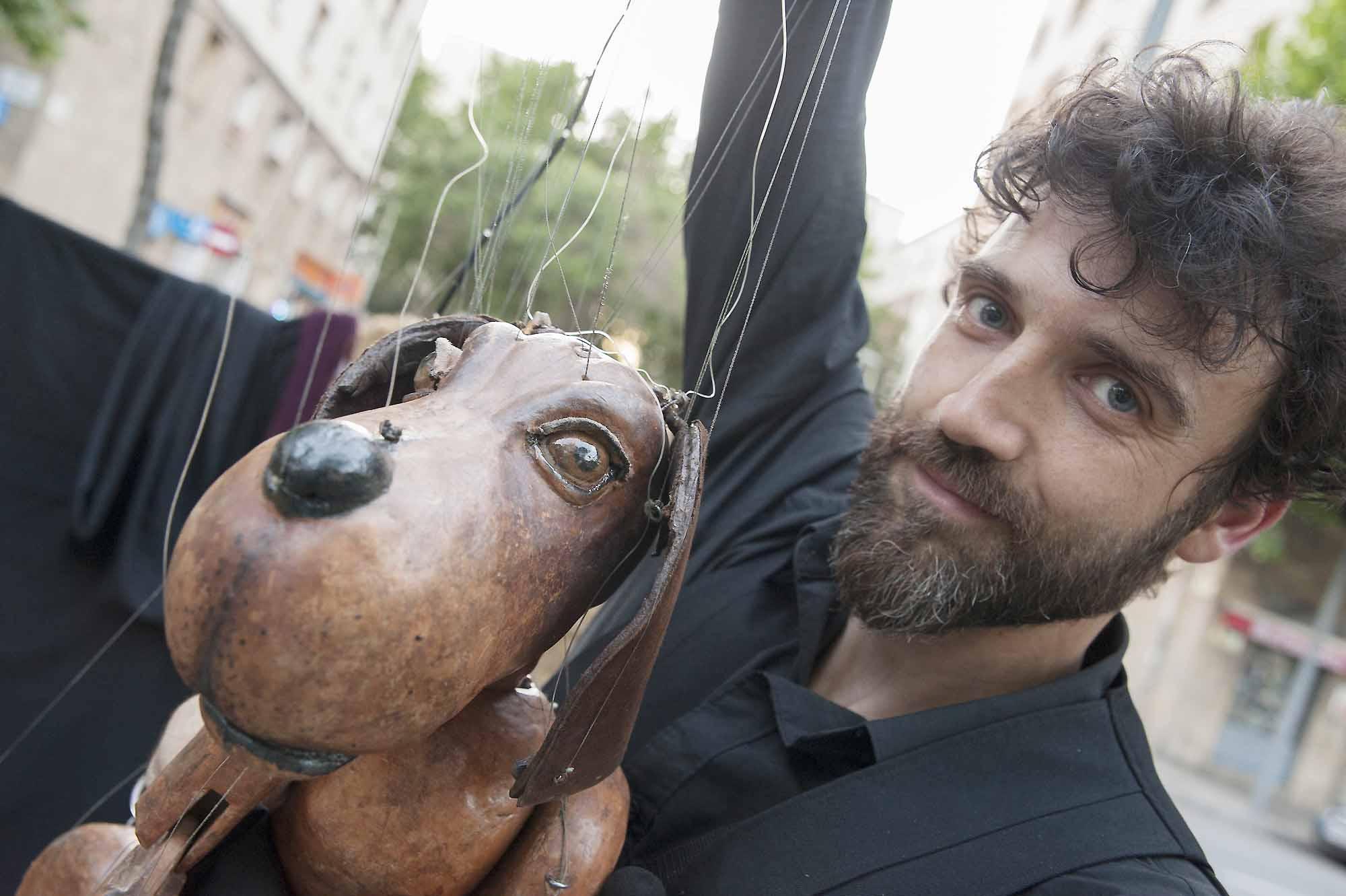 Ferran Costa Rambling Puppets. Canelo Show