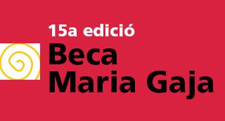 15a edició Beca Maria Gaja