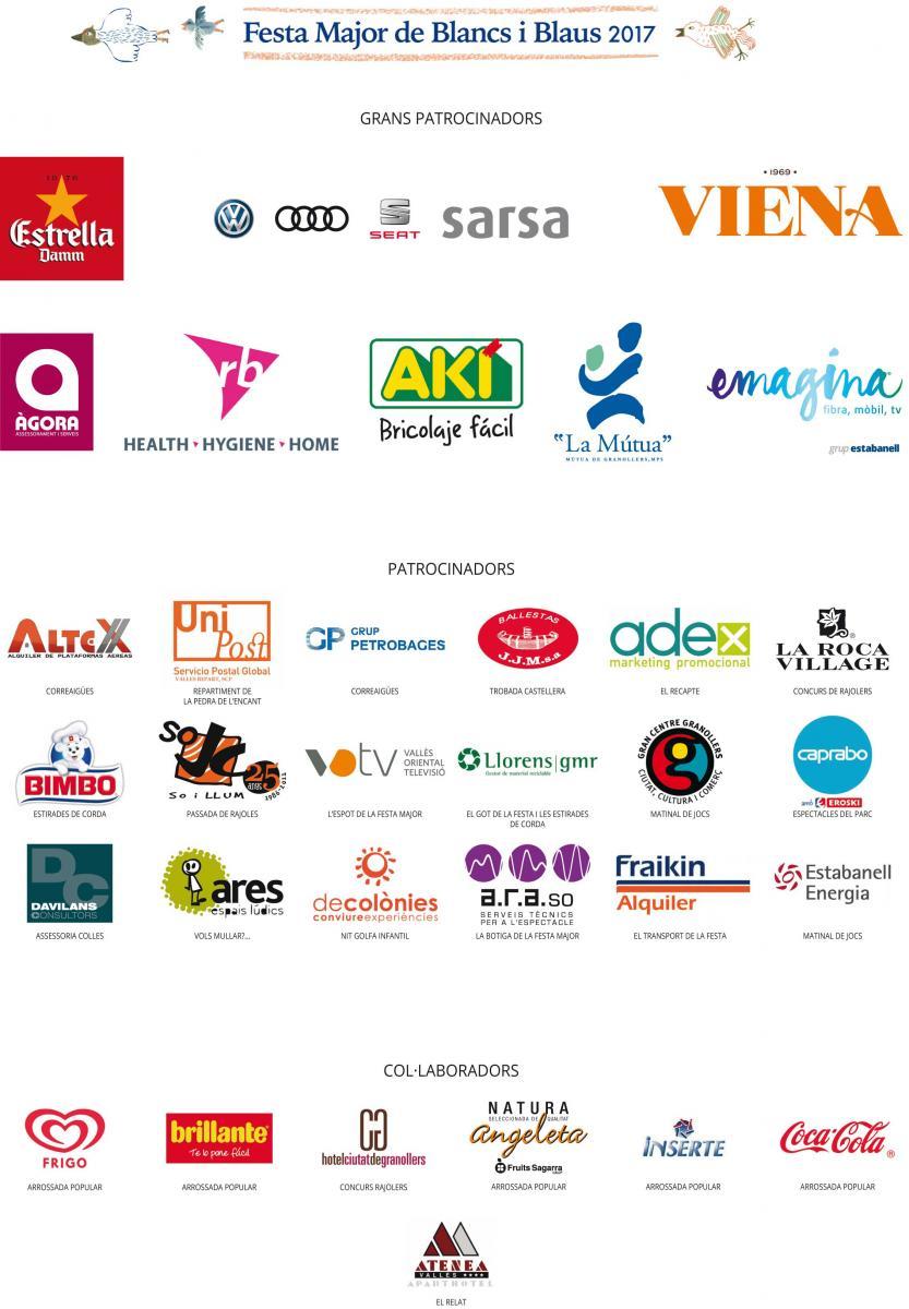 Patrocinadors (logos)